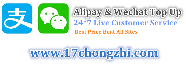 Looking for a way for Alipay top up in USA, Malaysia & Singapore